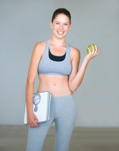 lose belly fat natually