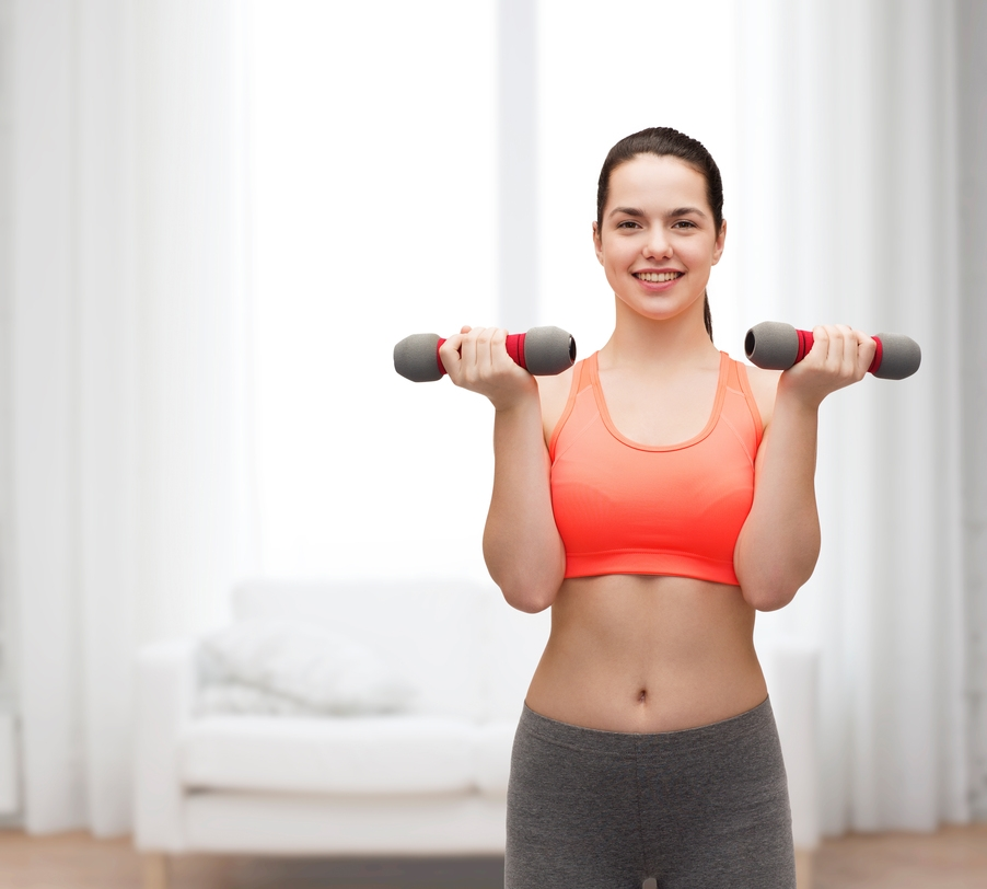 Home exercise workouts to blast away body fat