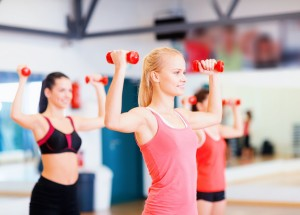 xercise class to lose weight