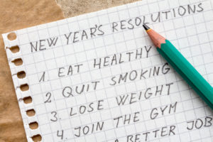 New Year Resolutions For Health And Wellness