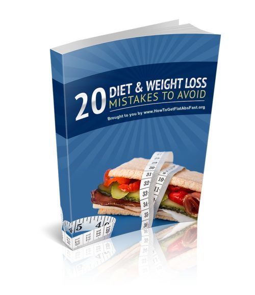 20 Weight Loss Mistakes 3D Cover